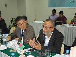 Photo of Dr Uddin and Dr Namba